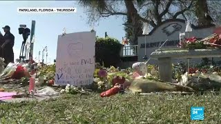 Parkland shooting: thousands pay tribute to students killed one year ago