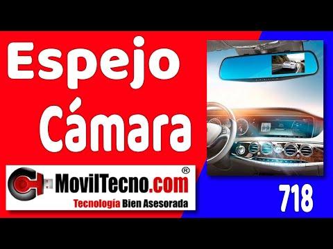 Espejo retrovisor con cámara de video - MovilTecno.com