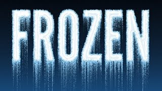 Photoshop CS6 Tutorial: How To Make ICY, FROZEN TEXT From Scratch.