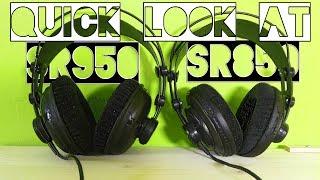 Quick Look At SR950 and SR850 Headphones