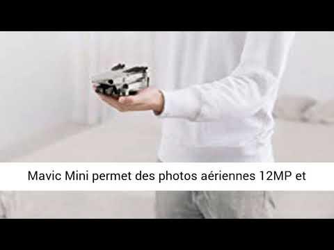 DJI Mavic Mini Combo - Drone Ultra-Léger et Ultra-Transportable, Autonomie de 30 minutes