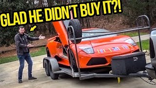 I Showed My Fast & Furious Lamborghini To The Guy That Wanted To Buy It Before I Did (BUT DIDN'T)