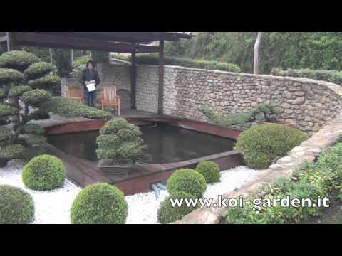 Costruzione laghetto - Koi Garden Italia realizza il vostro laghetto koi da sogno