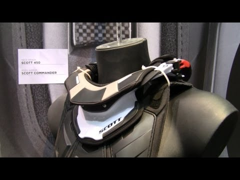 SCOTT Commander Brustpanzer News 2013 auf der Eicma 2012