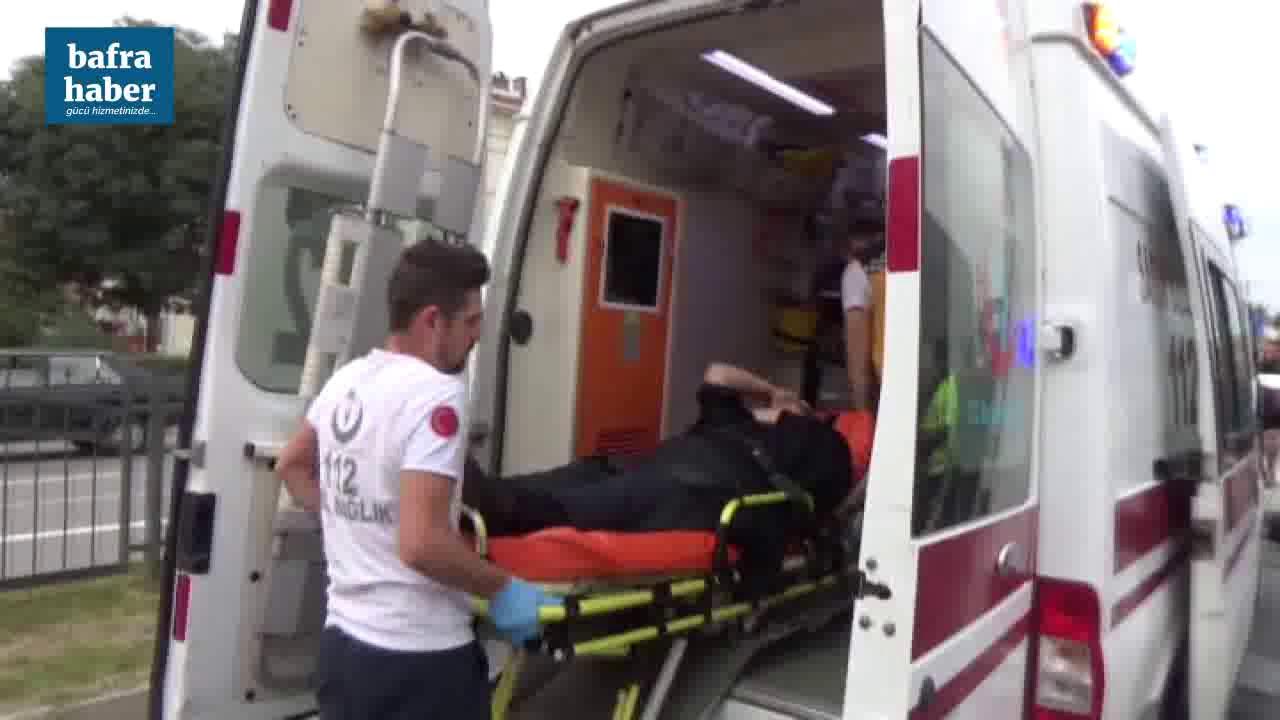 Samsun Sinop Yolunda Trafik Kazası: 3 Yaralı