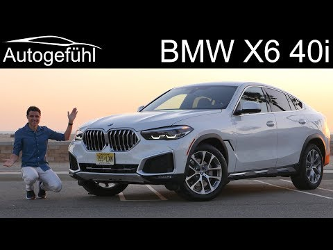 new BMW X6 40i xDrive FULL REVIEW 2020 - Autogefühl