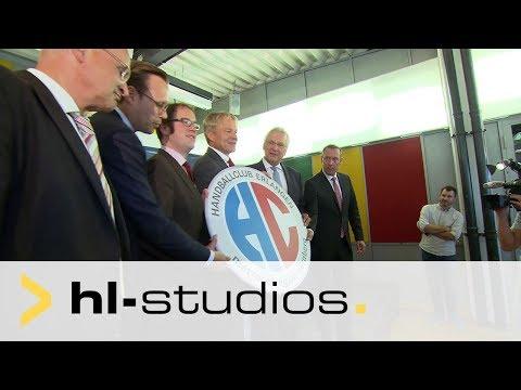 HC Erlangen: überarbeitetes Logo mit Metropolregion Nürnberg (Video: hl-studios, Erlangen)
