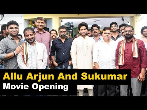 allu-arjun-and-sukumar-new-movie-opening-event