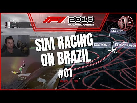 F1 2018 sim racing Grand Prix of Brazil