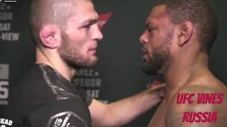 Интервью Хабиба Нурмагомедова после боя на UFC 205
