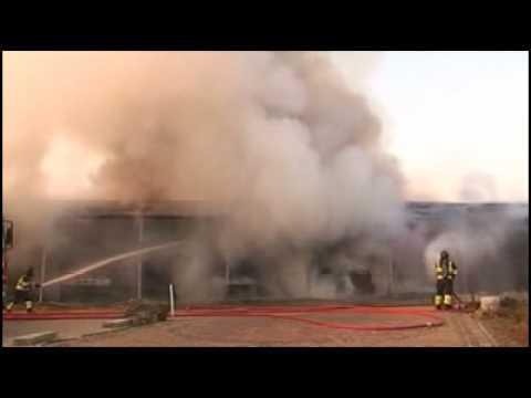 Carnavalswagen vernield door brand in Sint Hubert