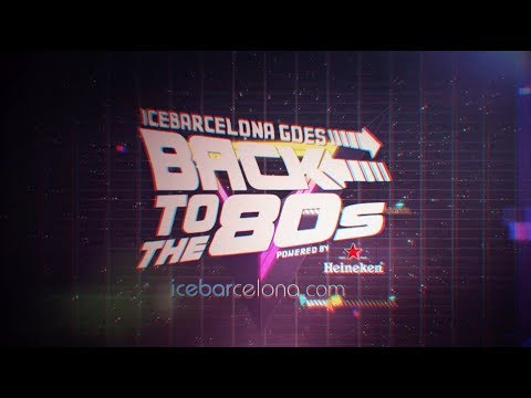Icebarcelona goes back to the 80's