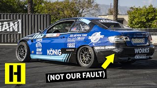 600HP 2JZ Powered BMW Gets Danger Close to the Trailer. The Bar has Been Raised