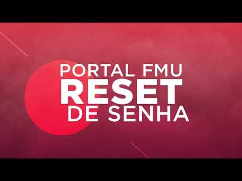 Reset de Senha - Portal FMU