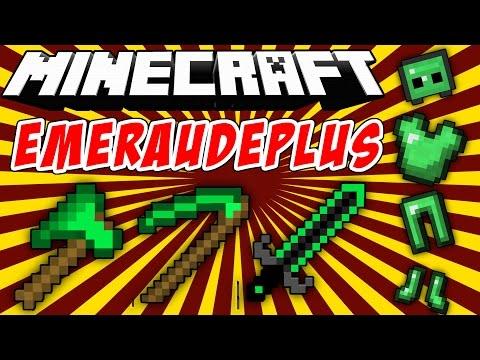 EMERAUDEPLUS: Armas Y Armaduras De Esmeraldas - Minecraft Mod 1.7.10