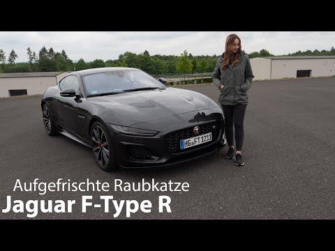2021 Jaguar F-Type R (F-Type P575) Test / Die Raubkatze in frischer Form - Autophorie