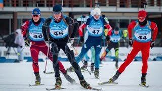 Чемпионат России по биатлону. Масс-старт мужчины 15 км