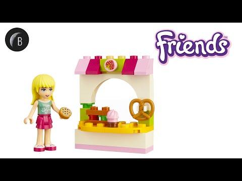 Vidéo LEGO Friends 30113 : La pâtisserie de Stéphanie