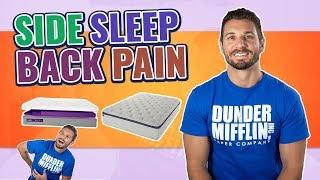 Best Mattress For Side Sleepers With Lower Back Pain (#1 GUIDE)