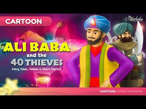 Ali Baba and the Forty 40 Thieves | | Fairy Tales and Bedtime Stories for Kids | Moral Story