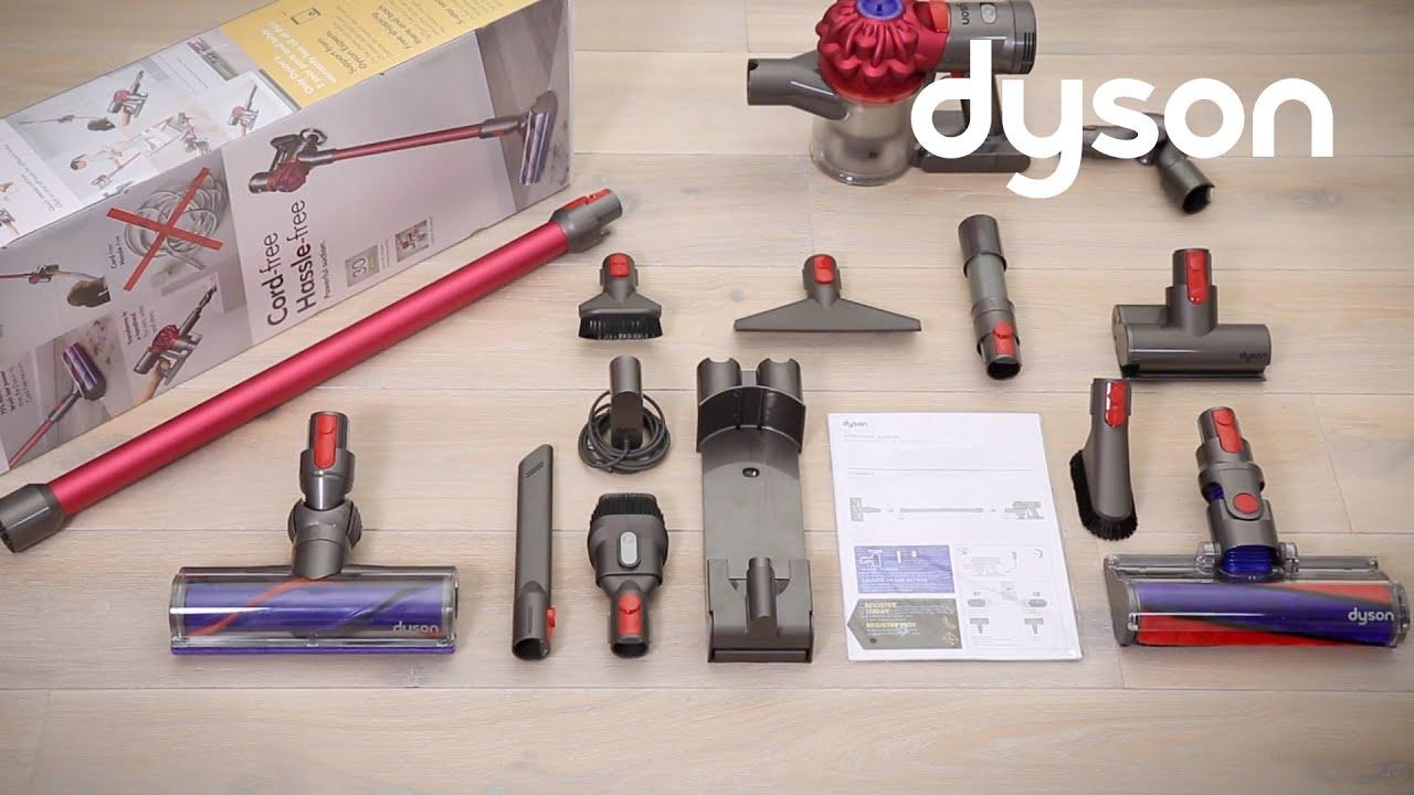 Аккумуляторный пылесос DYSON V7 Motorhead Origin ДС227613-01 video preview