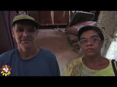 Rita moradora do Bairro dos Justos faz protocola na prefeitura para a Defesa Civil de Juquitiba