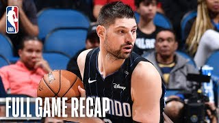 HAWKS vs MAGIC | Nikola Vucevic Goes For 27 Points & 20 Rebounds | March 17, 2019