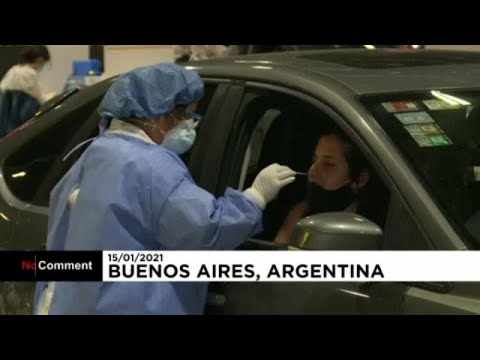 Αργεντινή: Τεστ κορονοϊού στους κατοίκους μέσα στο αυτοκίνητο…