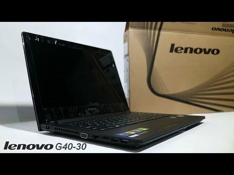 Lenovo G40-30 Unboxing
