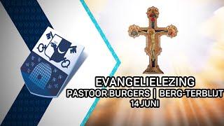 Evangelielezing pastoor Burgers   Berg en Terblijt – 14 juni 2020 - Peel en Maas TV Venray