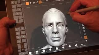 Zbrush on Surface Pro 2017 Bamboo Ink Tablet Pro perfect navigation test
