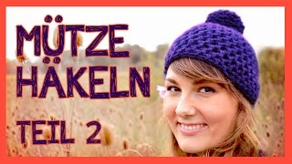 Mütze Häkeln Für Anfänger Teil 1 самые популярные видео