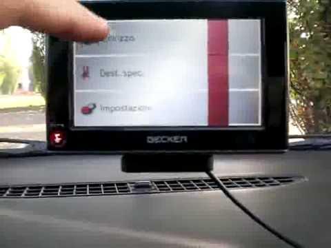 Test Becker Z101 GPS Review