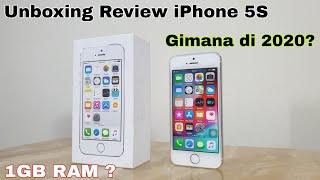 Unboxing Review IPhone 5S Ex IBox 1 JUTAAN ? Masih Layak Di 2020?? RAM 1 GB ? PUBG Gimana? INDONESIA