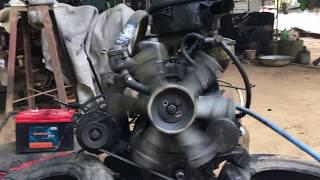 Standalone Mitsubishi 4DR5 Engine First Start