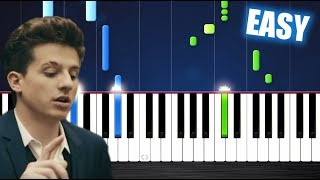 Charlie Puth - How Long - EASY Piano Tutorial by PlutaX