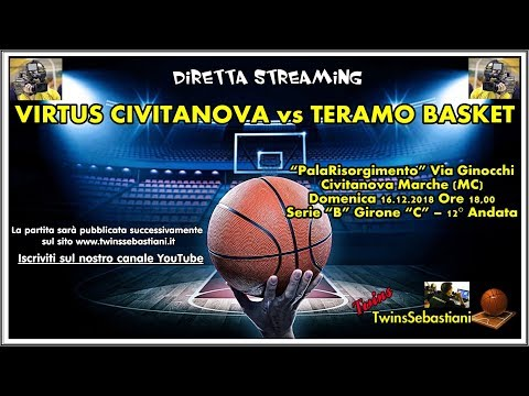 Preview video DIRETTA: Rossella Civitanova - Basket Teramo