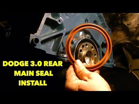 Ecotec Rear Main Seal Replacement