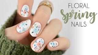 Floral Nails For Spring 🌸