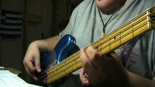 Def Leppard Die Hard The Hunter Bass Cover