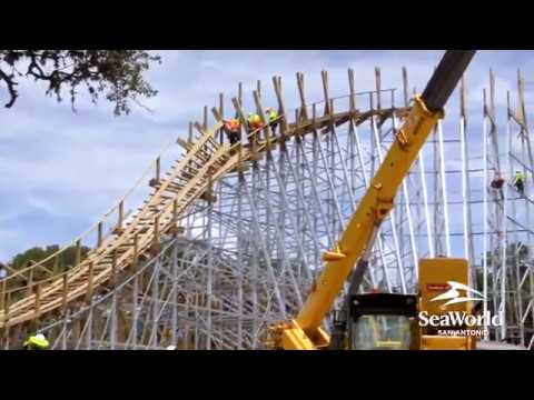 SeaWorld San Antonio 2020 Wooden Roller Coaster Teaser/Update!