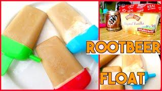 DIY SUMMER POPSICLE RECIPE | ROOTBEER FLOAT POPSICLES | TASTE TEST | Sensational Finds