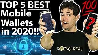 BEST Mobile Crypto Wallets: 5 TOP Choices!! 📲