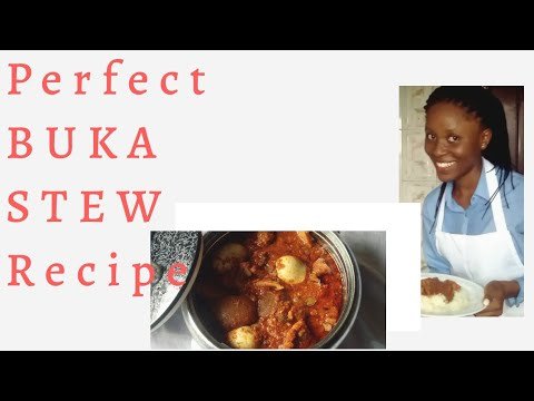 Perfect BUKA STEW Recipe with assorted meat