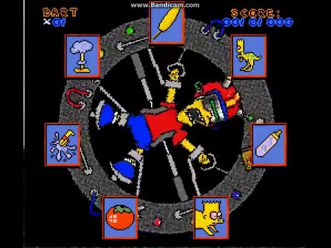 Virtual Bart (Super Nintendo) – Ravenking's Gameplay