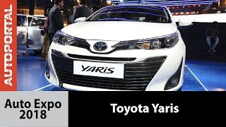 Toyota Yaris at Auto Expo 2018 - Autoportal