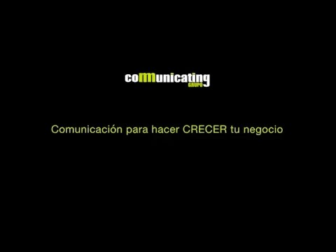 Video Corporativo Grupo Comunicating