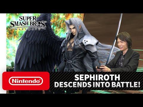 Présentation Sephiroth de Super Smash Bros. Ultimate