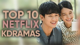 Top 10 Netflix Korean Dramas From 2018-2020 [Ft. HappySqueak]