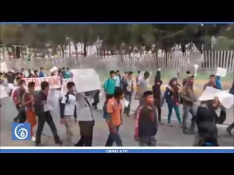 Estudiantes de la FENERRR de Los Reyes, piden mejores condiciones para estudiar